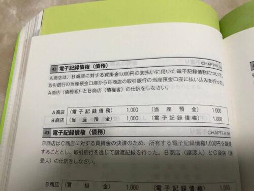 簿記の教科書、仕訳集