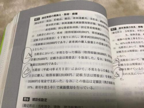 簿記2級の教科書